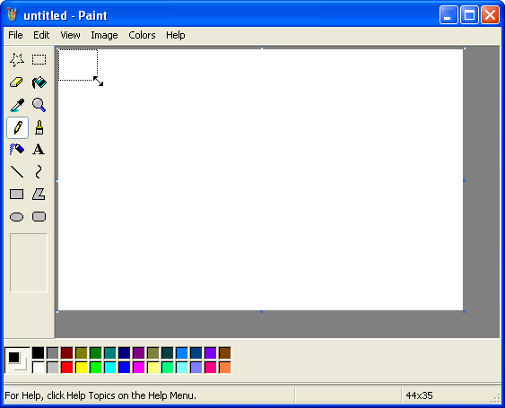 Amibroker Users Knowledge Base Capturing Images Using Microsoft Paint V3